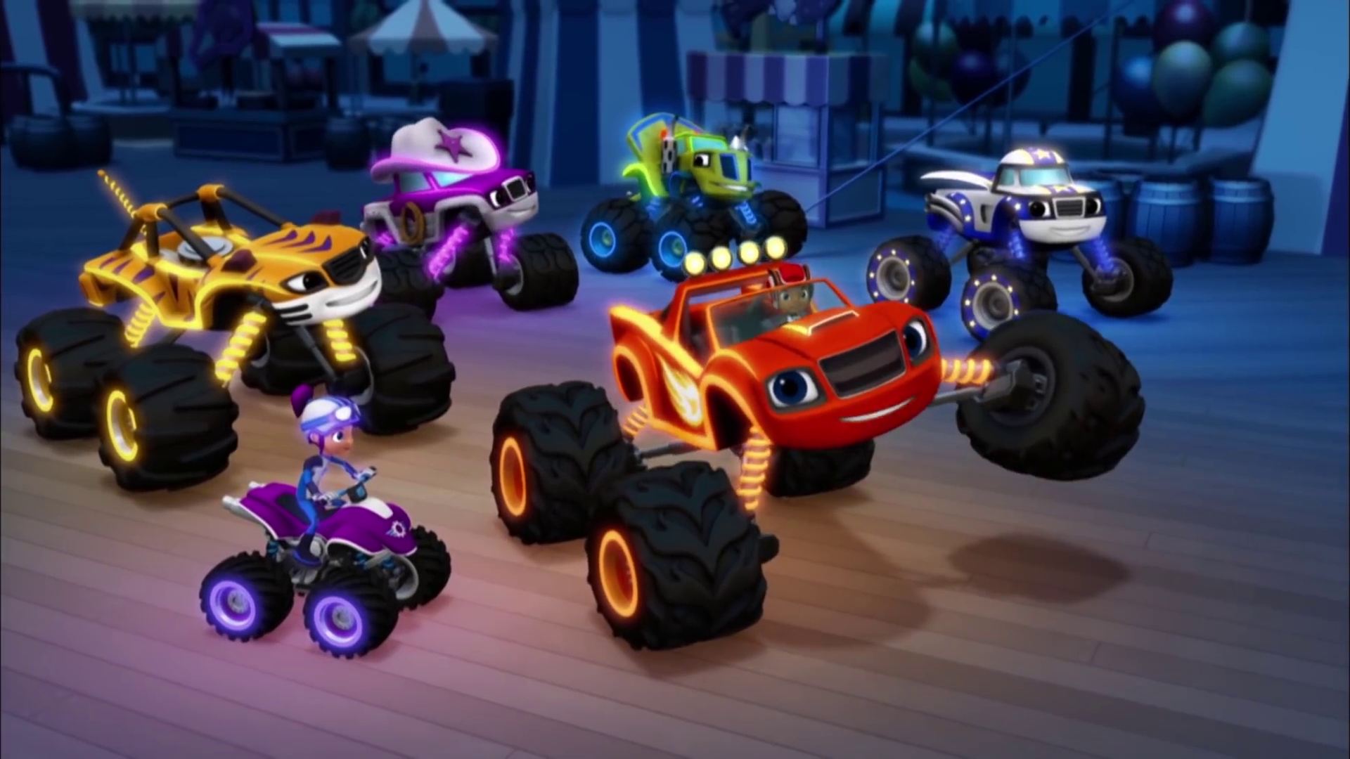Light Riders Appearances Blaze And The Monster Machines Wiki Fandom Powered By Wikia