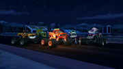 S3E4 Monster Machines admire Blaze's speed lights