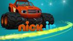 Blaze Nickelodeon logo - alternate