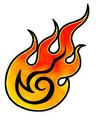 Fire Mysticker