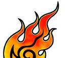 Mysticker of Fire Lv1