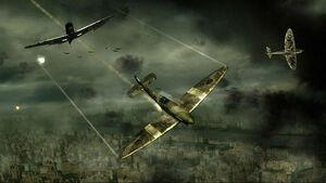 Screenshot blazing angels squadrons of ww2 game 5
