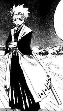 Tōshirō Hitsugaya manga