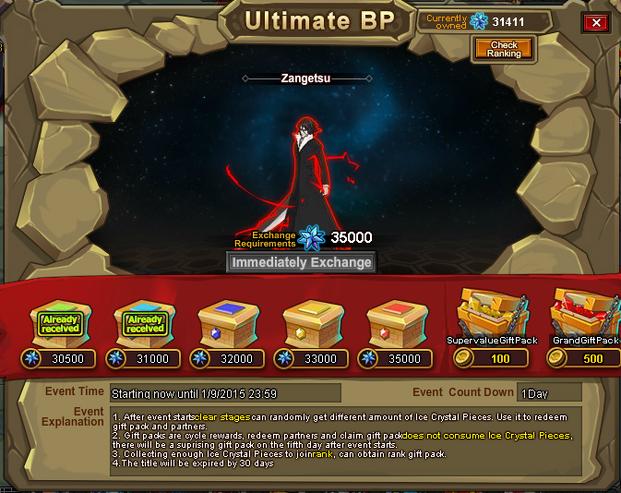 Ultimate BP 5 - Zangetsu