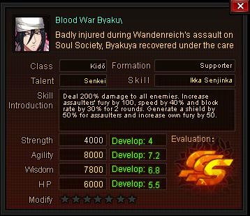 Blood war byakuya