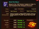 Blood War Mayuri