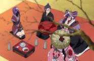 264Shunsui, Nanao, and Katen Kyokotsu sit