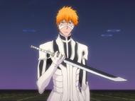 Ep358 Ichigo holding sword
