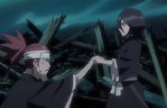 244Rukia and Renji emerge