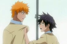 Ichigo y Tatsuki