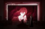 Rukia and Ichigo observe Nozomi's message