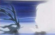 Ichigo y Byakuya colision final