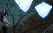 Yoruichi binds Ikkaku Renji