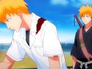O7 Kon opowiada Ichigo o złożonej sobie obietnicy