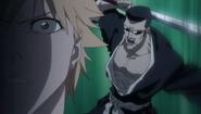 Reigai-Iba sneaks up on Ichigo