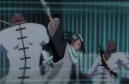 Byakuya vs Zommari