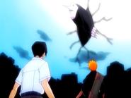 O14 Uryu i Ichigo stają do walki z Menosem