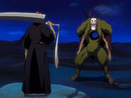 Fake Ichigo vs. Grand Fisher
