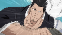 Isshin using Oni Dekopin