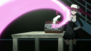 Riruka puts Ichigo in the box