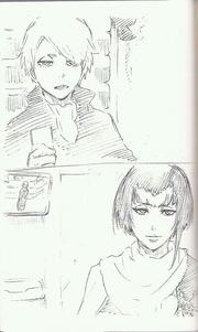 Yukio con Aura