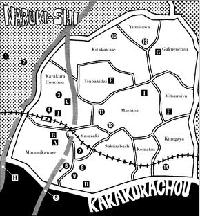 Mapa de Karakura