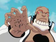 O113 Yammy roztrzaskuje Tsubakiego