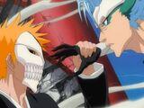 Grimmjow vs Ichigo