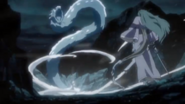 Hitsugaya releases his Shikai before Hyorinmaru