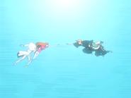 O25 Ichigo i Ganju próbują złapać Orihime i Uryu