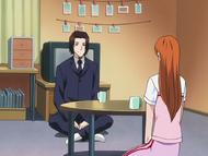 O64 Kurodo w postaci Sory rozmawia z Orihime
