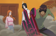 Orihime and Sado arrive