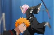 Yachiru melompati Ichigo