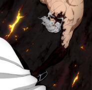 O294 Yamamoto chwyta Aizena za kostkę