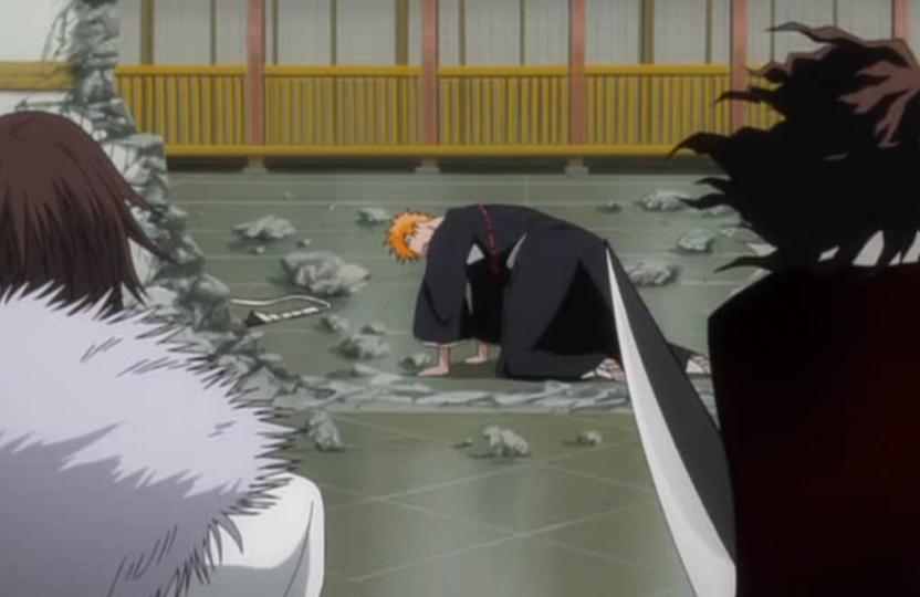 Ichigo Kurosaki & Hollow Ichigo vs  Zangetsu & Muramasa