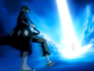 O20 Kisuke staje się świadkiem uwolnienia Getsugi Tensho Ichigo