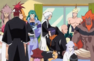 259Shinigami and Zanpakuto spirits sit