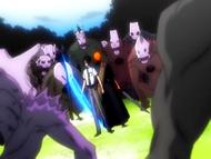 O14 Ichigo i Uryu kontra Hollowy