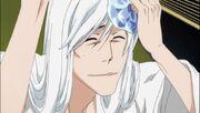 Ukitake feliz de que Ichigo este bien