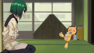 Kon Tries To Cheer Nozomi Up