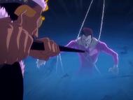 O10 Don Kanonji niszczy łańcuch przeznaczenia Demi-Hollowa