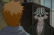 Ichigo awakens to Urahara