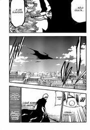 Ichigo se sorprende cuando Iván desaparece