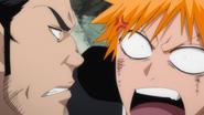 297Ichigo and Isshin argue
