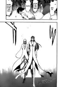 Gin y Aizen se encuentran con Tatsuki y Keigo