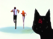 O21 Yoruichi zszokowana lekkomyślnością Orihime i Sado