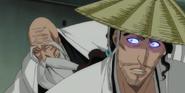 Yamamoto appears behind Reigai-Kyoraku