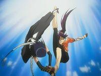 Soi Fong vs Yoruichi