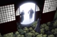 Byakuya, Muramasa and Senbonzakura arrive in Karakura Town