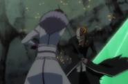 Muramasa fights Vizard Ichigo
